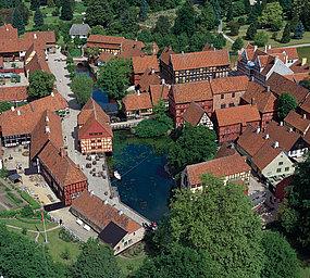 the Old Town Aarhus Denmark