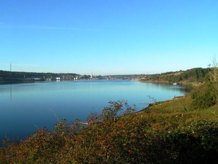 Mariager fjord Hobro