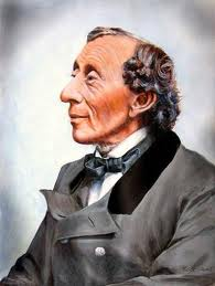 portrait poet Hans Christian Andersen Denmark