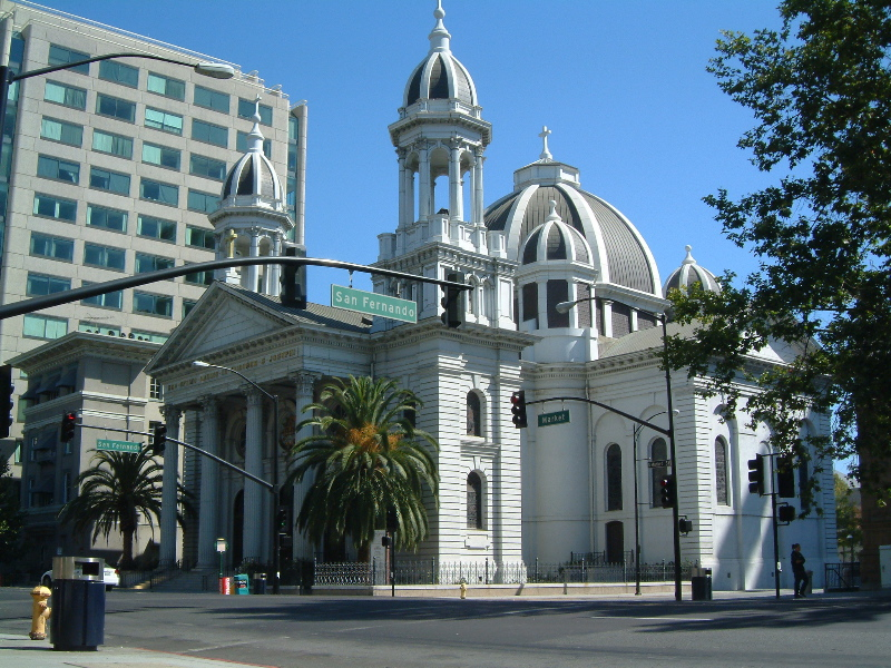 Cathedral Basilica of St. Joseph in San JoseMission San Diego