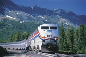Amtrak's California Zephyr train uses the Union Pacific's original transcontinental railroad Nevada
