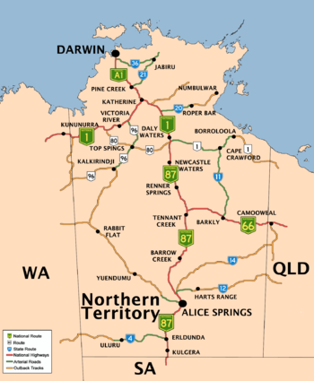 Australia  Northern teritory