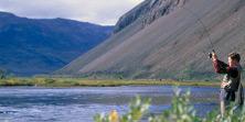 River Fishing Greenland Arctic