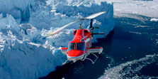 Helicopter Flights Greenland Arctic