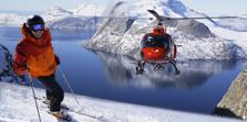 Heliskiing Greenland Arctic