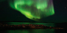 Northern Lights Greenland Arctic