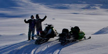 Snowmobiling Greenland Arctic