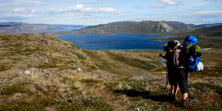 Hiking Greenland Arctic