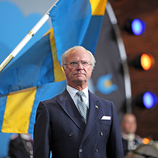 Carl XVI Gustaf, the King of Sweden