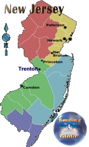 New Jersey region map