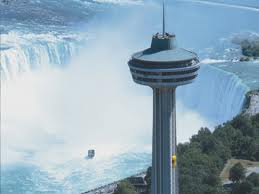 Water Fall Canada Toronto Niagara Falls Skylon Tower