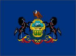 The Commonwealth of Pennsylvania flag