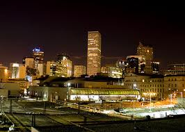 Denver Colorado by night