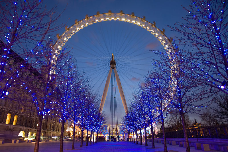the London Eye Greater London UK