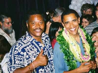 Hawaii / Hawaiian Honolulu Barack Obama in Hawaii